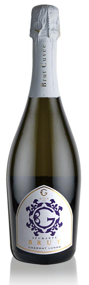 SPUMANTE BRUT CHARMAT LUNGO / スプマンテ ブリュット シャルマルンゴ-GIOIA JAPAN-ジオイアジャパン-Mr. Guccio Gucci(グッチオ・グッチ氏)プロデュースワイン