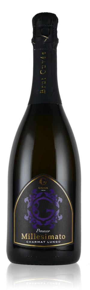 イタリアワイン・GIOIA JAPAN-ジオイアジャパン-PROSECCO MILLESIMATO CHARMAT LUNGO DOC/ プロセッコ ミレジマート シャルマルンゴ DOC-Mr. Guccio Gucci(グッチオ・グッチ氏)プロデュースワイン