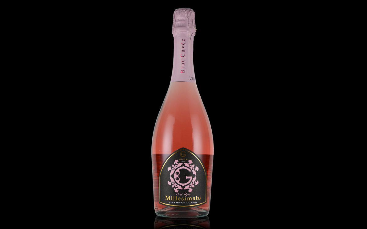 BRUT ROSE MILLESIMATO CHARMAT LUNGO / ブリュット ロゼ ミレジマート シャルマルンゴ-GIOIA JAPAN-ジオイアジャパン-Mr. Guccio Gucci(グッチオ・グッチ氏)プロデュースワイン